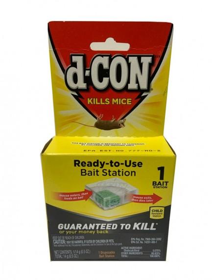 D-Con Mice Disposable  Bait Station 1 ct