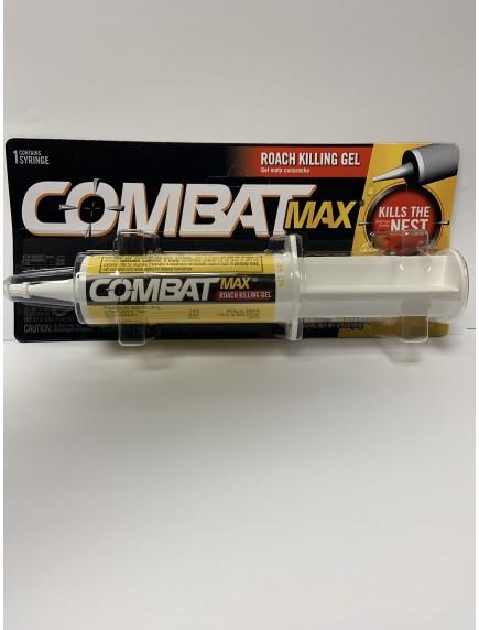 Combat Max Roach Killing Gel 2.1 oz Syringe
