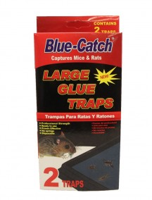 Blue Catch Large Glue Traps For Mice & Rats 2 ct