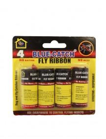 Blue Catch Fly Ribbon 4 pk