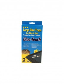 Blue Touch Large  Mice & Rats Glue Trap with Peanut Scent 2 ct
