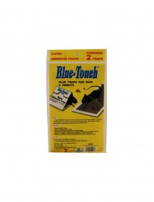 Blue-Touch Glue Traps for Mice & Insects with Peanut Scent  2 pk