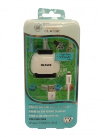iPhone USB Travel Charger Compatible with iPhone 5/6 - Assorted Colors