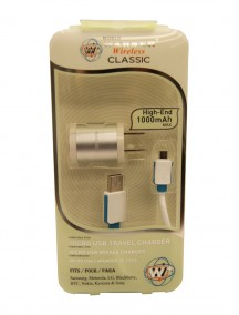 Micro USB Travel Charger - Assorted Colors