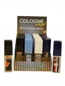 Cologne on the Go for Men 0.5 fl oz Mini Cologne Spray - 24 ct Display - #C