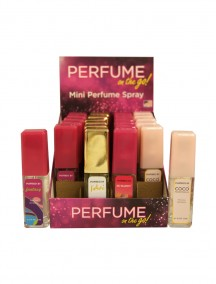 Perfume on the Go for Women 0.5 fl oz Mini Perfume Spray - 24 ct Display - #B