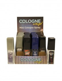 Cologne on the Go for Men 0.5 fl oz Mini Cologne Spray - 24 ct Display - #B
