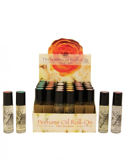Perfume Oil Roll On For Women 0.30 oz - 36 ct Display - #B