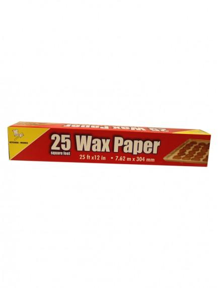 Kitchen Works Wax Paper 25 sq ft