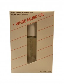 White Musk Version Fragrance Oil 0.33 oz Boxed