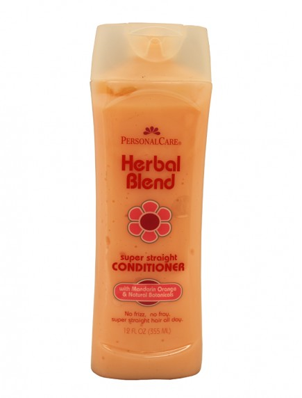Personal Care Herbal Blend 12 oz Super Straight Hair Conditioner