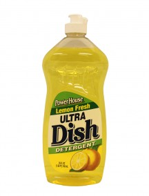 Power House Ultra Dish Detergent 25 fl oz - Lemon Fresh
