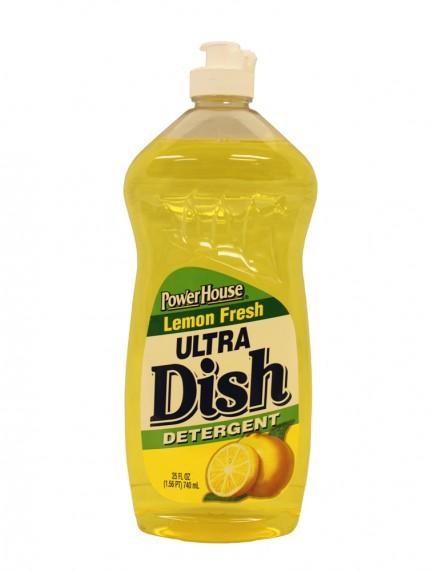 Power House Ultra Dish Detergent 25 fl oz - Lemon Fresh