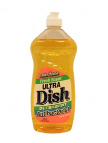 Power House Ultra Dish Detergent + Antibacterial Hand Soap 25 fl oz - Fresh Scent