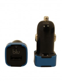 Blu USB Cigarette Lighter Adapter