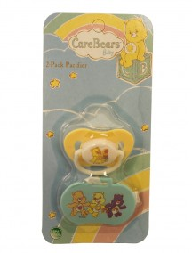 Care Bears Baby Pacifier with Holder 2 pk