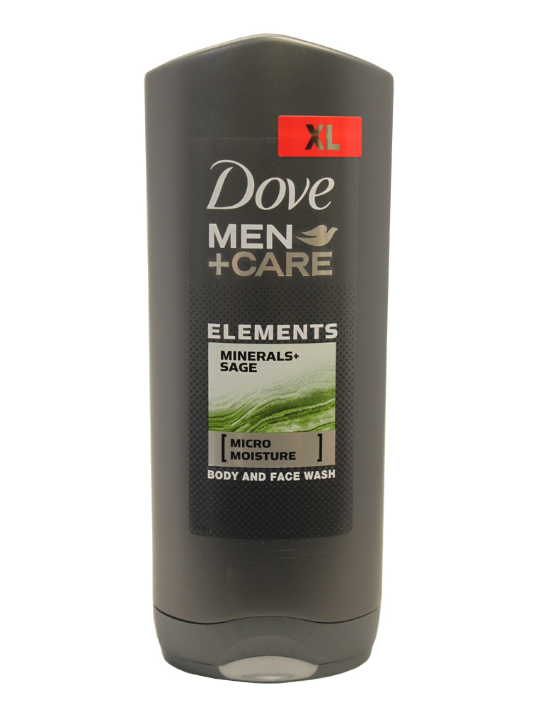 Dove Men Care Body And Face Wash 400ml Elements Minerals Sage