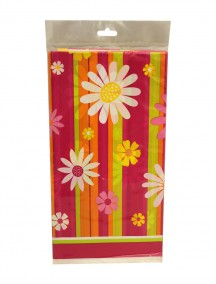 Table Cover 54 in x 84 in - Daisy Stripe
