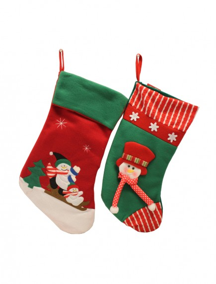 Christmas Stocking - Assorted Styles & Colors