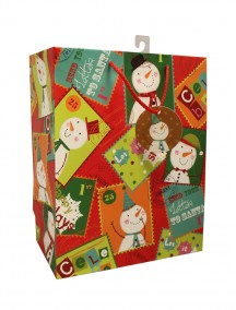 Gift Bags Medium Size - Assorted Christmas Designs