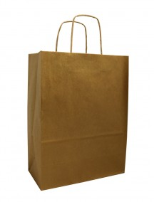 Gift Bag - Gold Metallic
