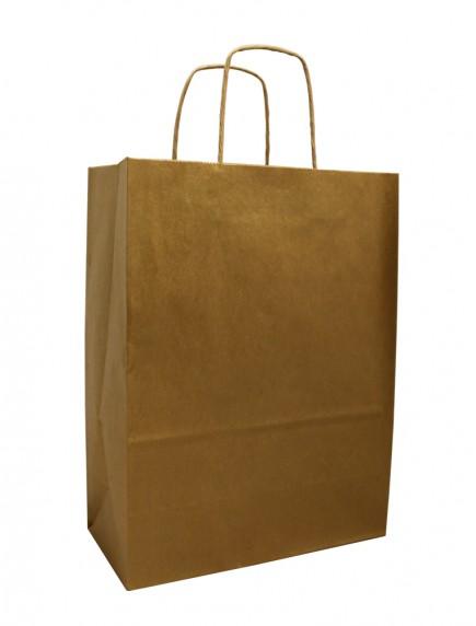 Gift Bag - Gold Metallic