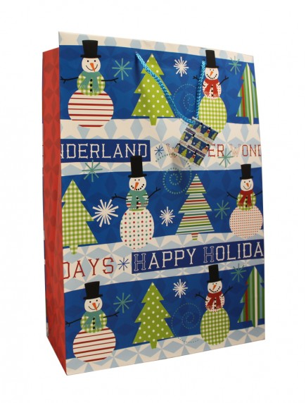 Gift Bags Large Size - Assorted Christmas Designs