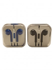 Earphones - iPhone Style - Assorted Colors