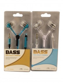 Bass Earphones - Assorted Colors