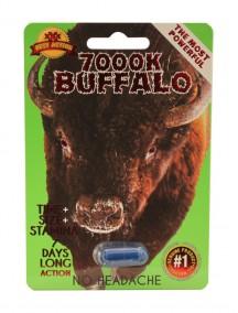 7000K Buffalo Male Sexual Performance Enhancer 1 ct