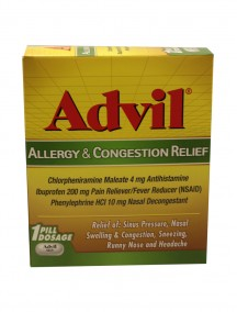 Advil Allergy & Congestion Relief 25 ct Dispenser