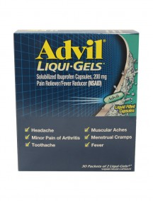 Advil Liqui-Gels 30 ct Dispenser