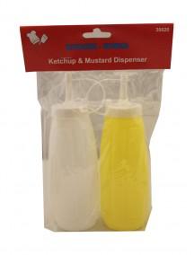 Ketchup & Mustard Bottles