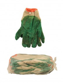 Knit Work Gloves with Rubber Grip 10 pk