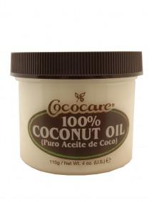 Cococare 100% Coconut Oil 4 oz