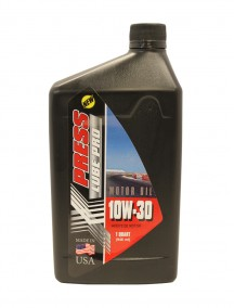 Press Lube Pro Motor Oil 1 Quart 10W-30