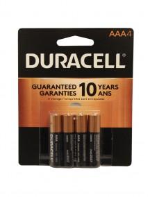 Duracell AAA Batteries 4 pk