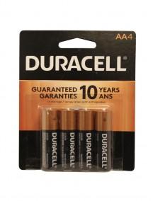 Duracell AA Batteries 4 pk
