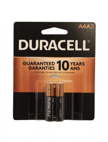 Duracell AAA Batteries 2 pk