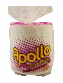 Apollo Foam Plates 100 ct