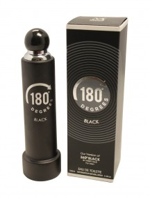 Mirage Brands 3.4 oz EDT Spray - 180 Degrees Black (Version of 360 Degrees Black by Perry Ellis)