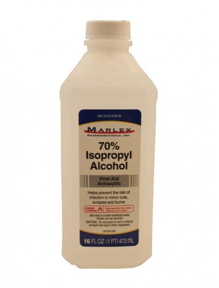 Isopropyl Alcohol 70% 16 fl oz