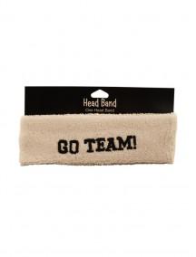 Go Team Headband - White Color