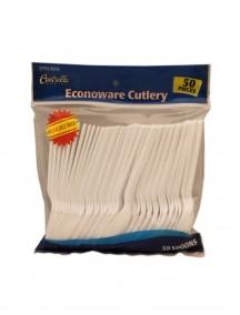 Centrella Plastic Spoons 50 ct