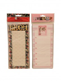 Magnetic List Pad 60 Sheets - Assorted Designs