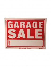Garage Sale Sign - Large