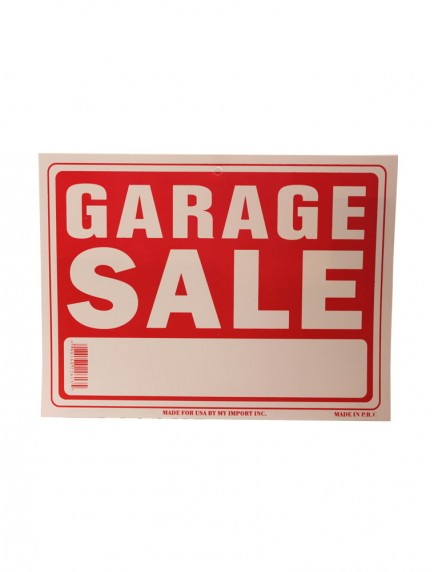 Garage Sale Sign - Small