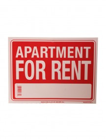 Apartment for Rent Sign - Small
