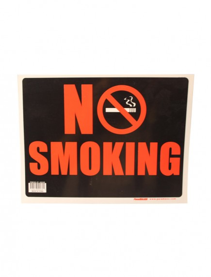 No Smoking Sign - Small