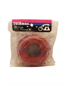 Techman 25 ft and 50 ft Plug to Plug Phone Cord - Assorted Colors